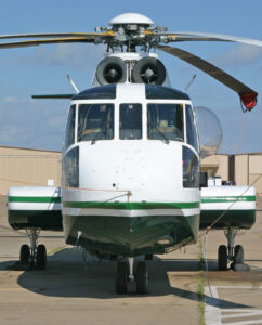 Sikorsky S-61R Front | Evergreen Aviation