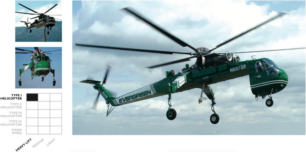 Sikorsky S-64 Skycrane | Evergreen Aviation