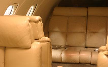 Evergreen Lear 35A Interior   Evergeen Aviation