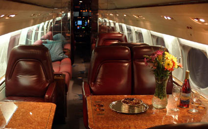 Gulfstream GIV Interior   Evergreen Aviation